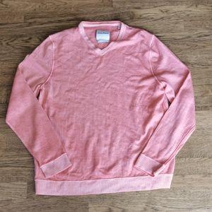 Tommy Bahama 100% Fine Merino Wool V-neck Sweate L